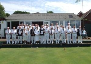 St Edmundsbury Bowls Centenary Year
